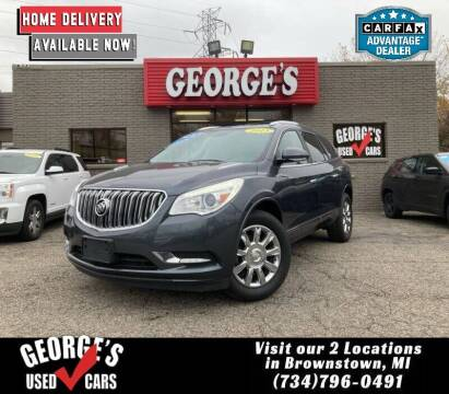 2013 Buick Enclave for sale at George's Used Cars - Telegraph in Brownstown MI
