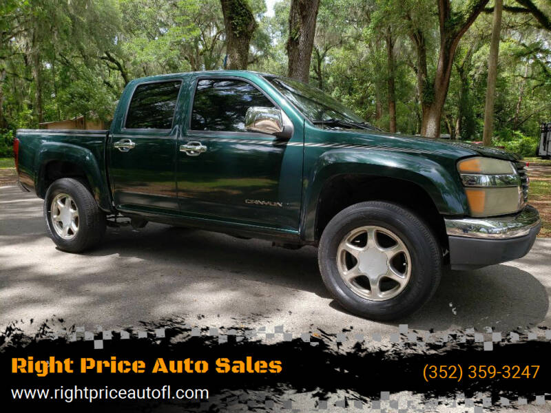 2005 GMC Canyon for sale at Right Price Auto Sales-Gainesville in Gainesville FL