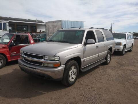 2005 Chevrolet Suburban for sale at PYRAMID MOTORS - Fountain Lot in Fountain CO