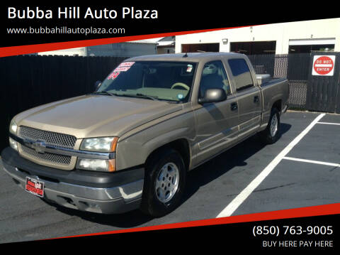 2004 Chevrolet Silverado 1500 for sale at Bubba Hill Auto Plaza in Panama City FL