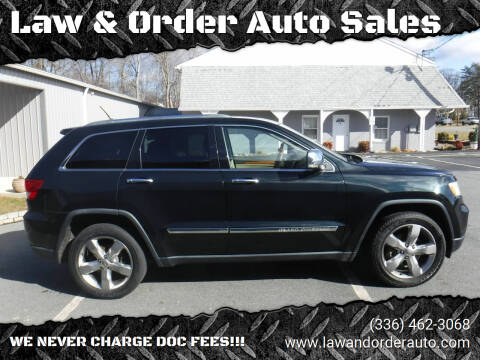 2012 Jeep Grand Cherokee for sale at Law & Order Auto Sales in Pilot Mountain NC