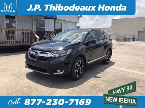 2019 Honda CR-V for sale at J P Thibodeaux Used Cars in New Iberia LA