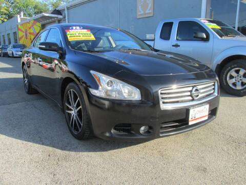 2012 Nissan Maxima for sale at Omega Auto & Truck Center, Inc. in Salem MA