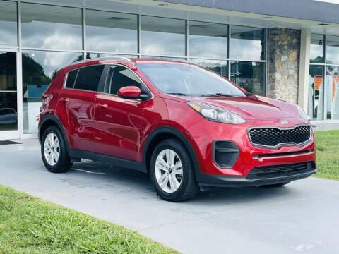 2019 Kia Sportage for sale at RUSTY WALLACE CADILLAC GMC KIA in Morristown TN