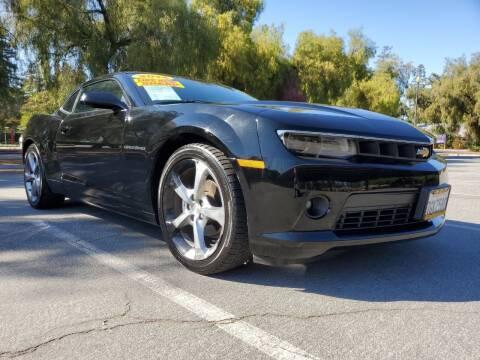 2014 Chevrolet Camaro for sale at ALL CREDIT AUTO SALES in San Jose CA
