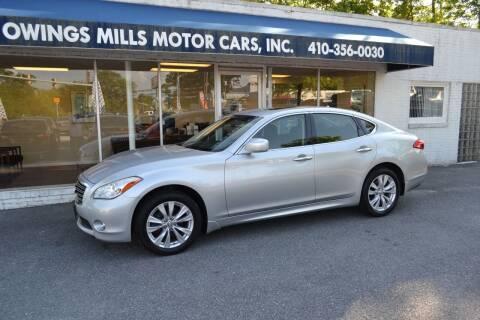 2011 Infiniti M37 for sale at Owings Mills Motor Cars in Owings Mills MD