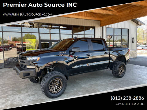 2019 Chevrolet Silverado 1500 for sale at Premier Auto Source INC in Terre Haute IN