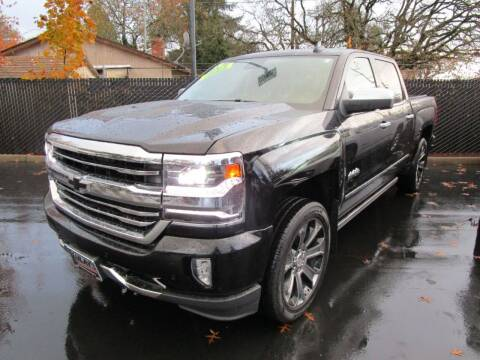 2016 Chevrolet Silverado 1500 for sale at LULAY'S CAR CONNECTION in Salem OR