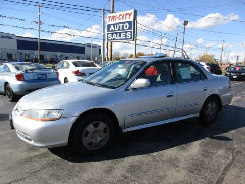 2002 Honda Accord for sale at TRI CITY AUTO SALES LLC in Menasha WI