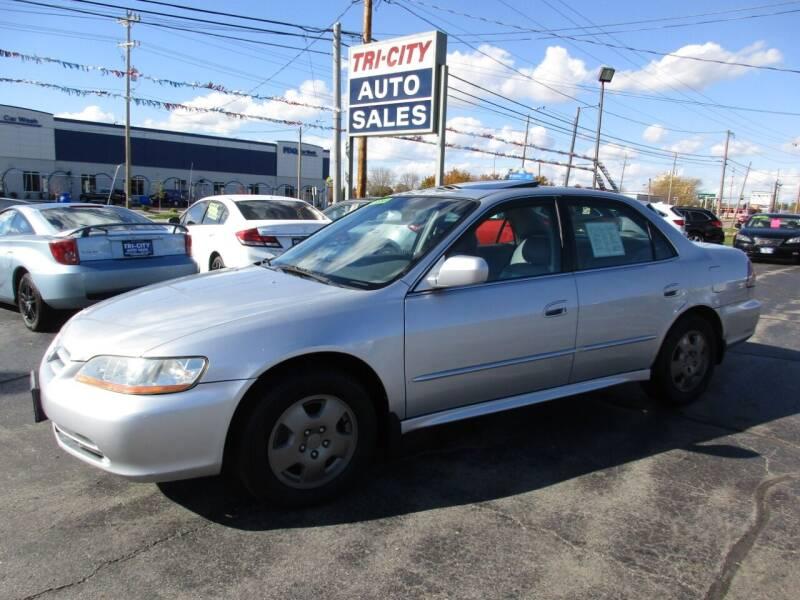 2002 Honda Accord for sale at TRI CITY AUTO SALES LLC in Menasha WI