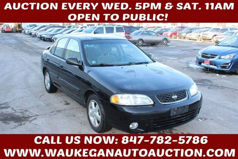 2002 Nissan Sentra for sale at Waukegan Auto Auction in Waukegan IL