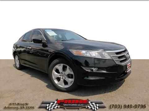 2011 Honda Accord Crosstour for sale at PRIME MOTORS LLC in Arlington VA