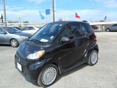 2015 Smart fortwo for sale at Talisman Motor City in Houston TX
