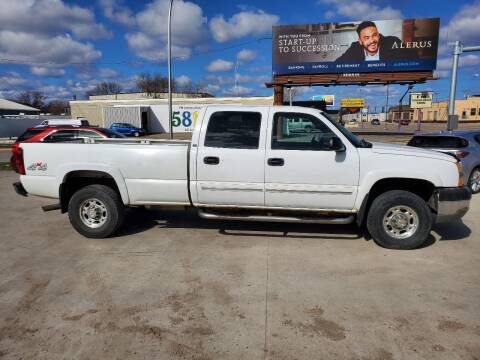 2004 Chevrolet Silverado 2500HD for sale at GOOD NEWS AUTO SALES in Fargo ND