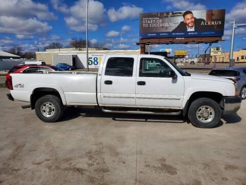 2004 Chevrolet Silverado 2500HD for sale at GOOD NEWS AUTO SALES in Fargo ND