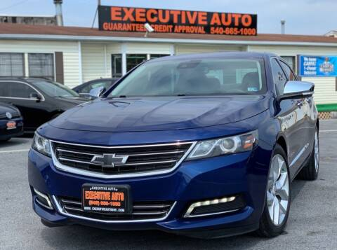2014 Chevrolet Impala for sale at Executive Auto in Winchester VA