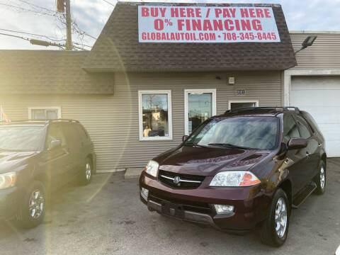 2001 Acura MDX for sale at Global Auto Finance & Lease INC in Maywood IL