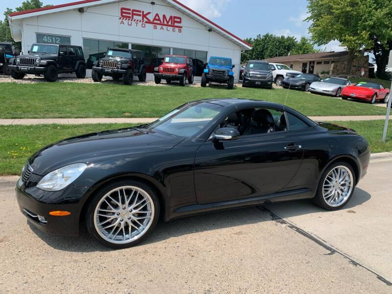 2007 Lexus SC 430 for sale at Efkamp Auto Sales LLC in Des Moines IA