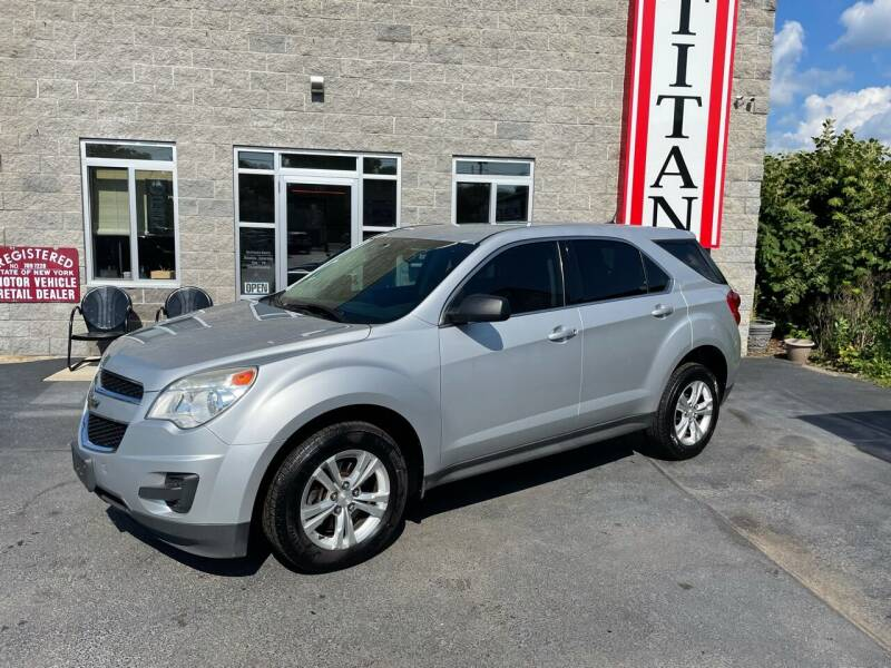 2014 Chevrolet Equinox for sale at Titan Auto Sales LLC in Albany NY