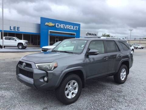 2016 Toyota 4Runner for sale at LEE CHEVROLET PONTIAC BUICK in Washington NC