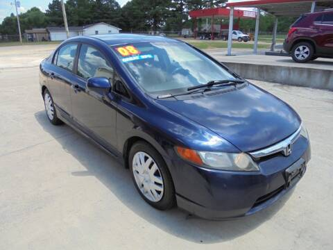 2008 Honda Civic for sale at US PAWN AND LOAN in Austin AR