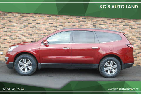2015 Chevrolet Traverse for sale at KC'S Auto Land in Kalamazoo MI