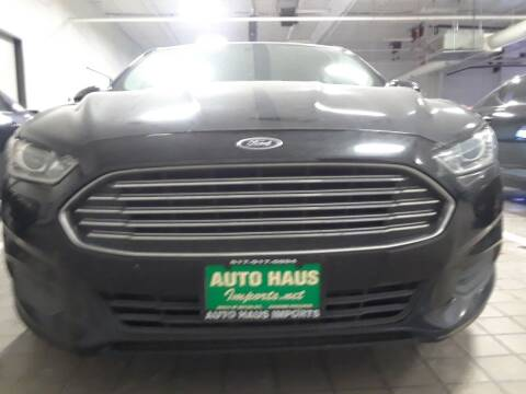 2015 Ford Fusion for sale at Auto Haus Imports in Grand Prairie TX