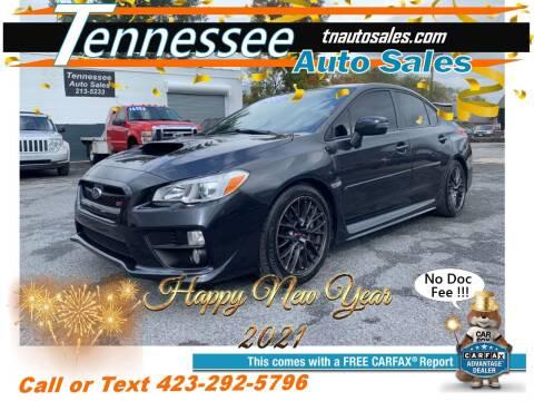 2017 Subaru WRX for sale at Tennessee Auto Sales in Elizabethton TN