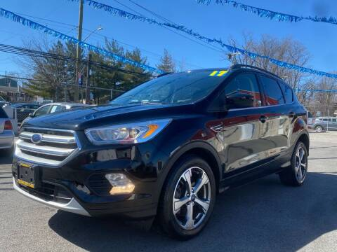 2017 Ford Escape for sale at PELHAM USED CARS & AUTOMOTIVE CENTER in Bronx NY