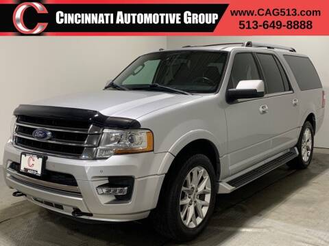 2017 Ford Expedition EL for sale at Cincinnati Automotive Group in Lebanon OH