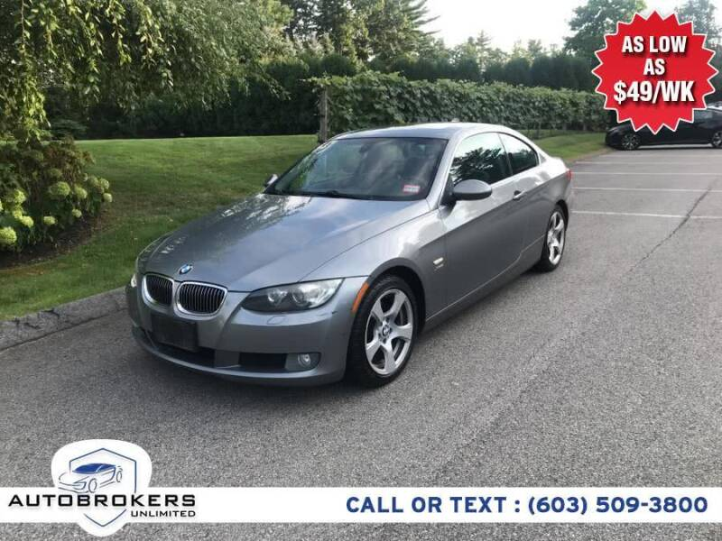 2009 BMW 3 Series for sale at Auto Brokers Unlimited in Derry NH