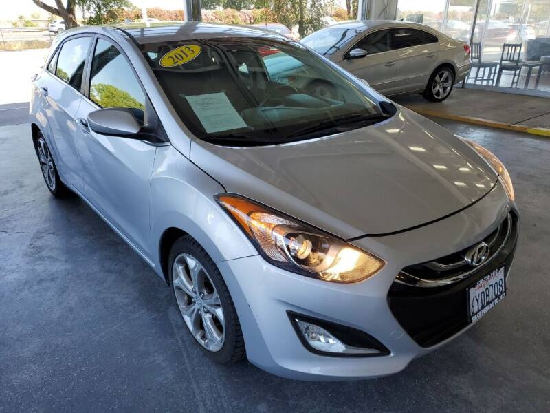 2013 Hyundai Elantra GT for sale at Sac River Auto in Davis CA