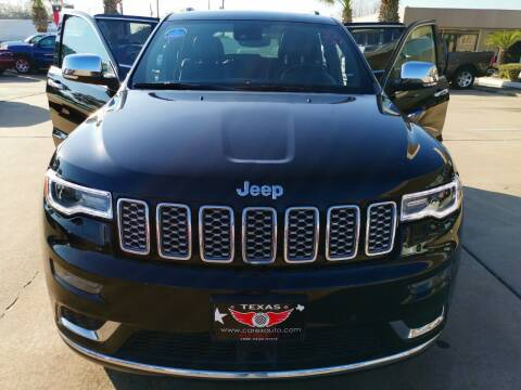 2017 Jeep Grand Cherokee for sale at Car Ex Auto Sales in Houston TX