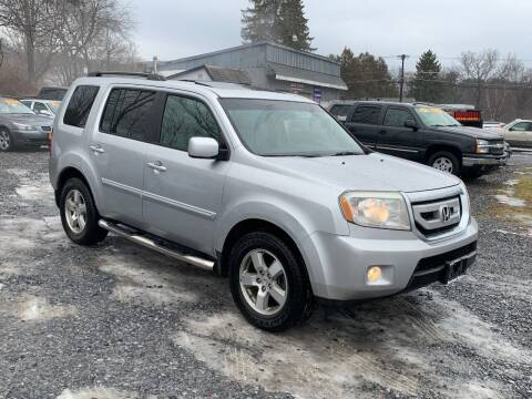 2010 Honda Pilot for sale at Saratoga Motors in Gansevoort NY