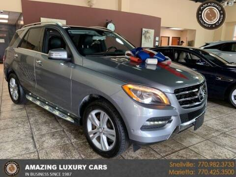 2014 Mercedes-Benz M-Class for sale at Amazing Luxury Cars in Snellville GA