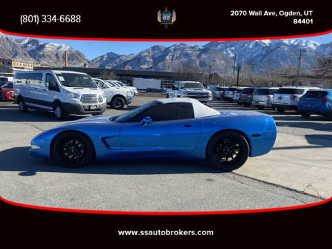 2004 Chevrolet Corvette for sale at S S Auto Brokers in Ogden UT