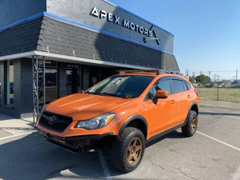 2014 Subaru XV Crosstrek for sale at Apex Motors in Murray UT