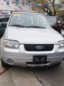 2006 Ford Escape for sale at GARET MOTORS in Maspeth NY