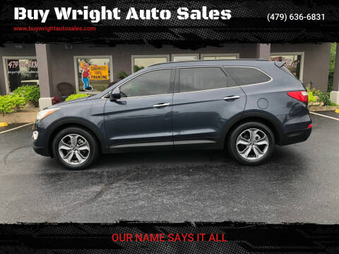 2016 Hyundai Santa Fe for sale at Buy Wright Auto Sales in Rogers AR