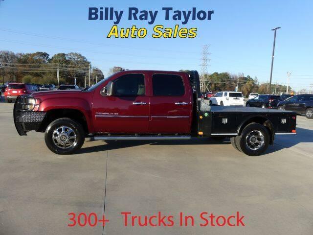 2013 GMC Sierra 3500HD for sale at Billy Ray Taylor Auto Sales in Cullman AL