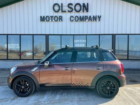 2013 MINI Countryman for sale at Olson Motor Company in Morris MN