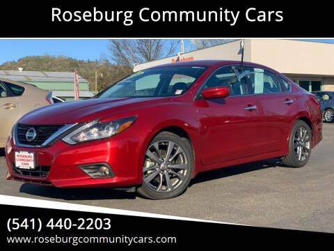 2018 Nissan Altima for sale at Roseburg Community Cars in Roseburg OR