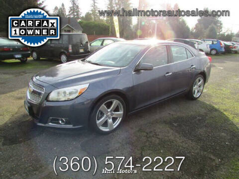 2013 Chevrolet Malibu for sale at Hall Motors LLC in Vancouver WA