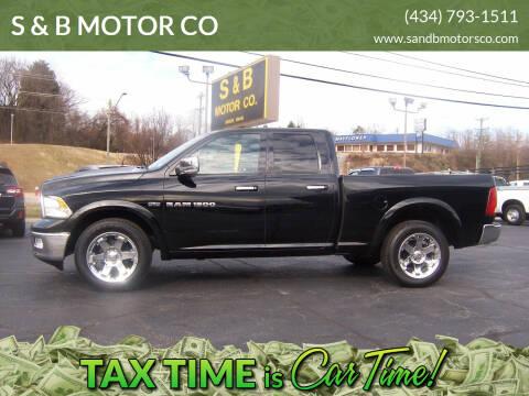 2012 RAM Ram Pickup 1500 for sale at S & B MOTOR CO in Danville VA