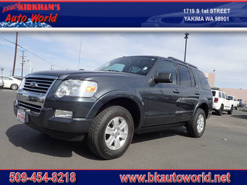 2010 Ford Explorer for sale at Bruce Kirkham Auto World in Yakima WA