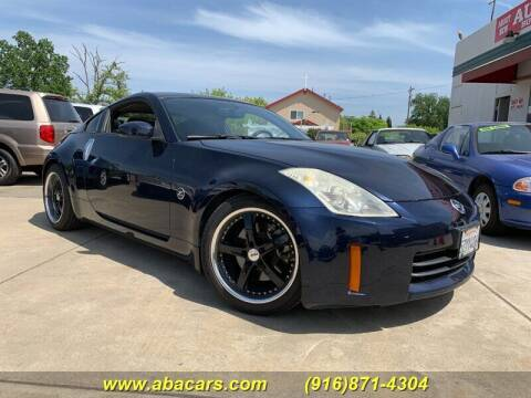 2007 Nissan 350Z for sale at About New Auto Sales in Lincoln CA