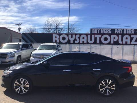 2017 Nissan Maxima for sale at Roy's Auto Plaza in Amarillo TX