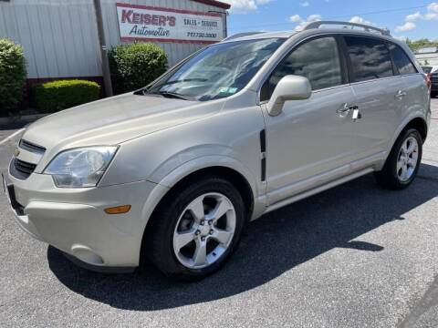 2014 Chevrolet Captiva Sport for sale at Keisers Automotive in Camp Hill PA