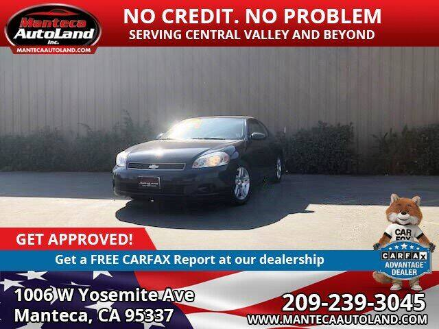 2007 Chevrolet Monte Carlo for sale at Manteca Auto Land in Manteca CA