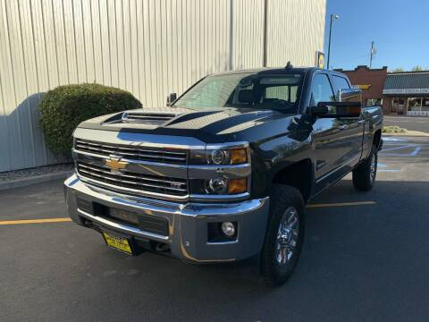 2018 Chevrolet Silverado 2500HD for sale at DAVENPORT MOTOR COMPANY in Davenport WA